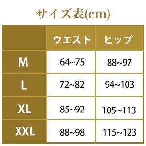 サイズ M L XL XXL