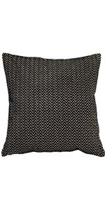 Art Deco Stripes Velvet Throw Pillow