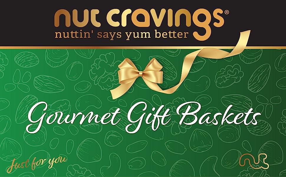 gourmet gift baskets - nuttin' says yum better