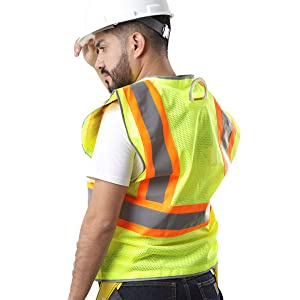 Kolossus workwear high visibility vest