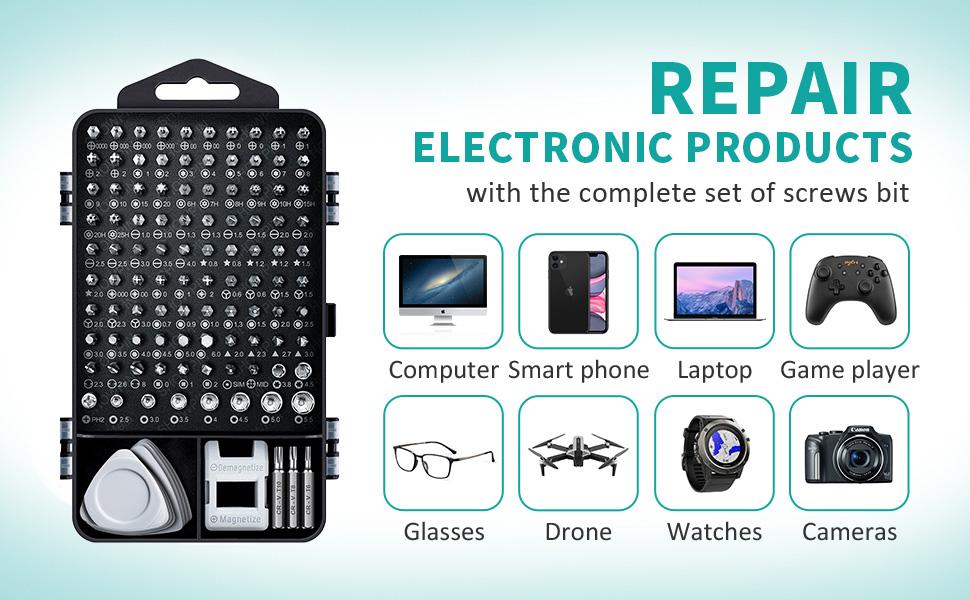 Electronic repair tool kit