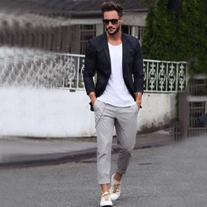 mens Button Suit