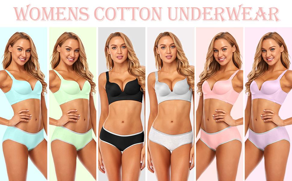underwear cotton for womens