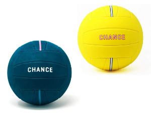 Chance Celine and Splash Volleyballs