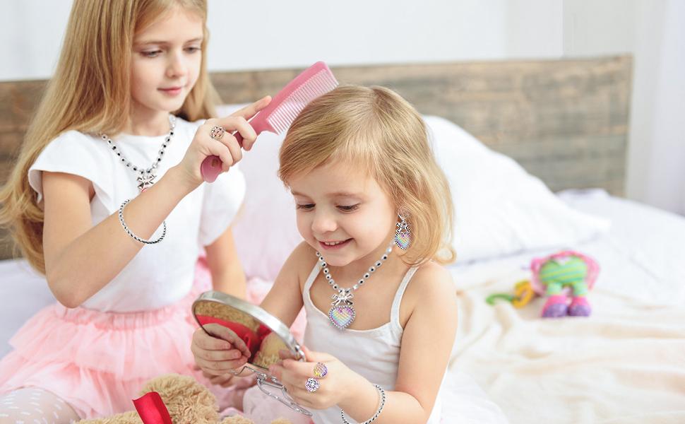 NINAOR Princess Jewelry Set