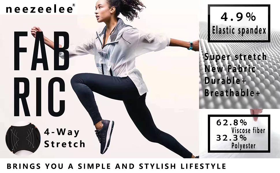 Womens High waist Skinny Stretch Dress Pants Work Leggings Slim fit