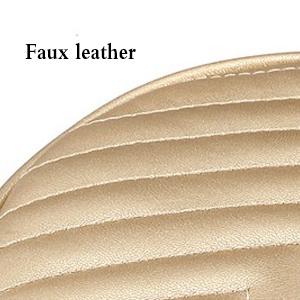 Small Crossbody Bags for Women Round Quilted Purse with Tassel Faxu Leather Shoulder bag