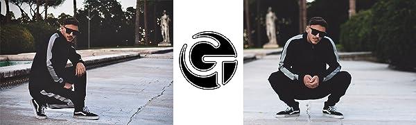 GINGTTO Men Tracksuit
