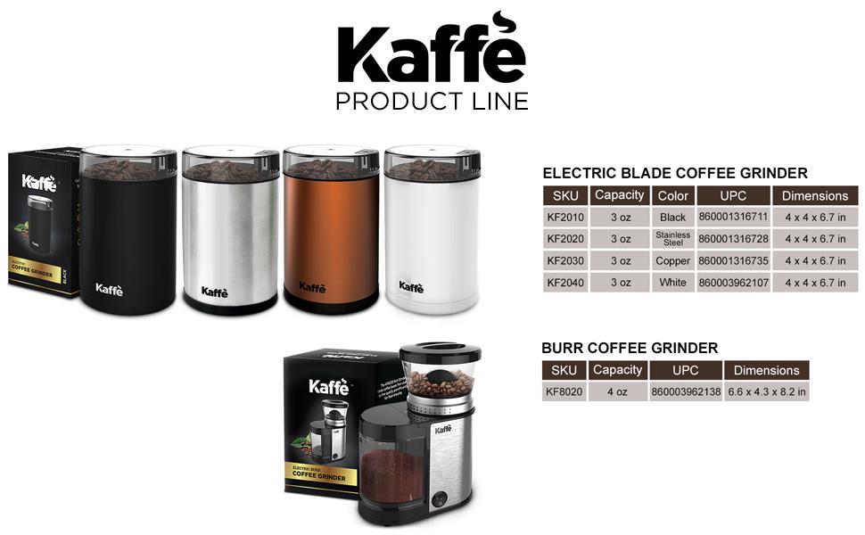 kaffe, products, French press, coffee grinder, storage, mugs, espresso cups