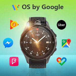 AllCall Waterproof Smart Watch Android Men IP68 Waterproof 3G Smartwatches Phone 2GB RAM 16GB ROM 2.0MP Camera GPS Sports Fitness Tracker 460mAh ...