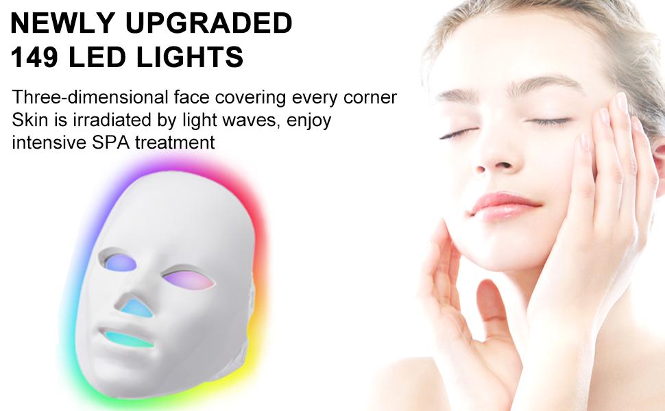 7 Color LED Facial Mask