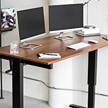 stand up desk store crank adjustable sit to stand weight capacity