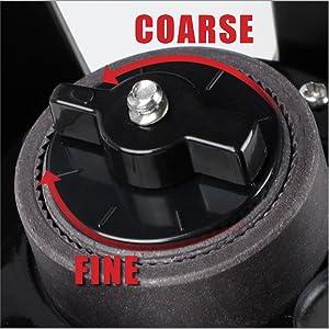 Adjustable Coarseness Conical Grinder