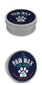 Paw Balm and Paw Wax for Dogs and Cats. Use as a Snout Balm too !