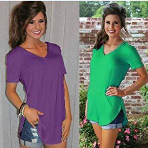 longline t shirt top for women