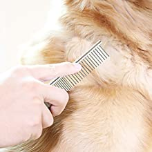 Combing your pets