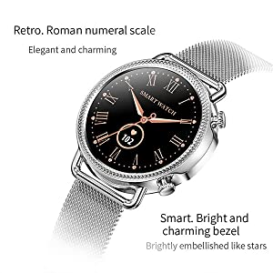 Exquisite round watch HD color Screen