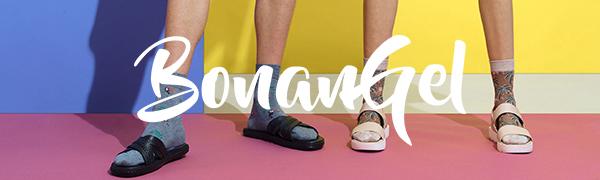 Bonangel Men's Fun Dress Socks