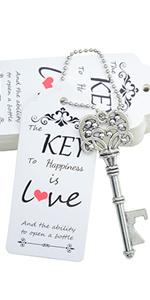 key bottle opener skeleton key bottle opener wedding key bottle opener with tag