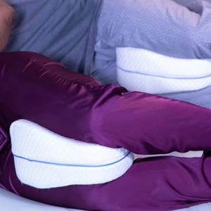 Leg Pillow Designed To Fit Men & Women Comfortably!