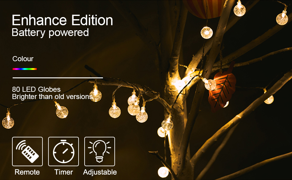 fairy string lights with remote