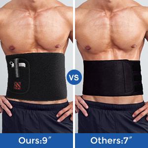 Workout Sweat Belt