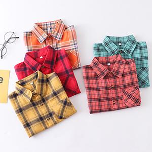 Boys Button Down Short Sleeve Shirts Toddler Buffalo Plaid Shirt School Uniform Dress Shirt