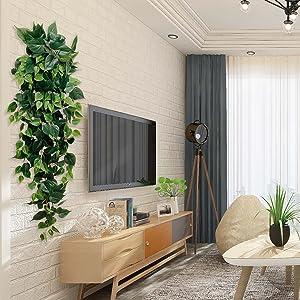 silk hanging plants artificial ivy vine garland green home decor