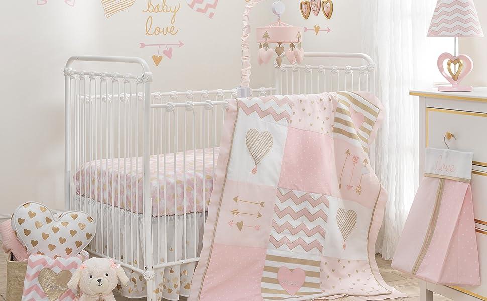Baby Love Nursery with Lamp