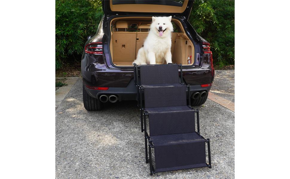 Giant dog car ramps
