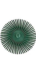 E-Z Loc Radial Bristle Discs