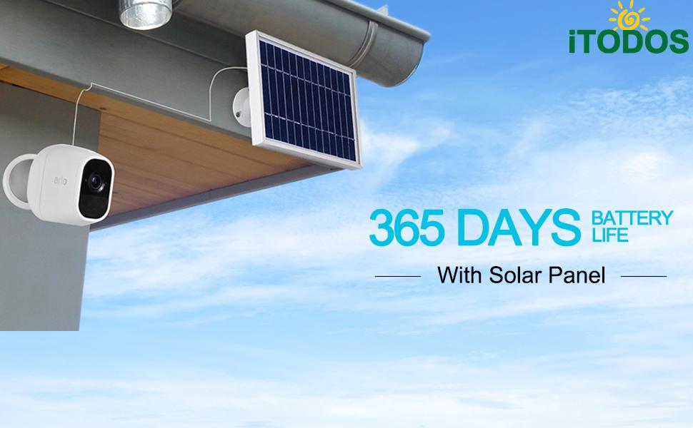 Solar Panel For Arlo Pro 2 and Arlo Pro