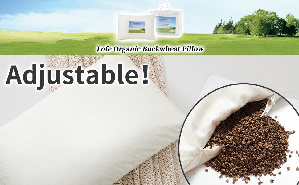 Lofe Organic Buckwheat Pillow