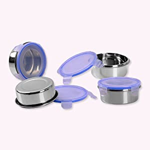 Sumeet Stainless Steel Airtight & Leak Proof L&L Containers Set