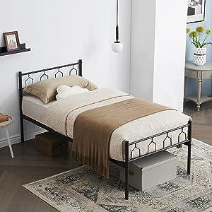 cadre de lit simple 90 * 190