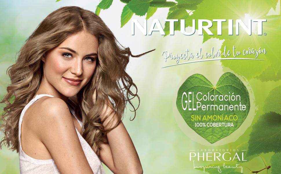 Naturtint Coloración7G Rubio Dorado. Tinte sin Amoniaco. 100% Cobertura de canas e Hidratación. Ingredientes y Aceites Vegetales. Color Natural y ...