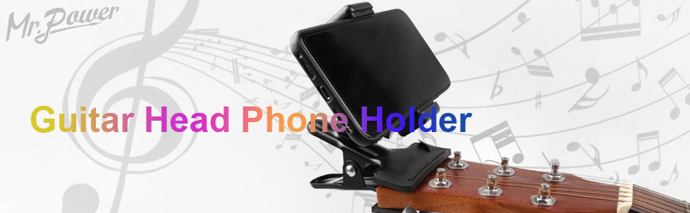 Guitar Head Phone Holder