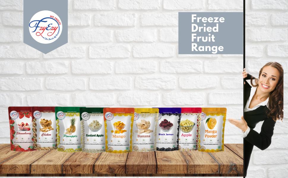 FZYEZY Freeze Dried Fruit Range