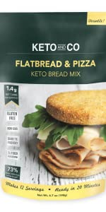 Keto and Co Flatbread and Pizza Mix