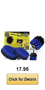 Blue Drill Brush