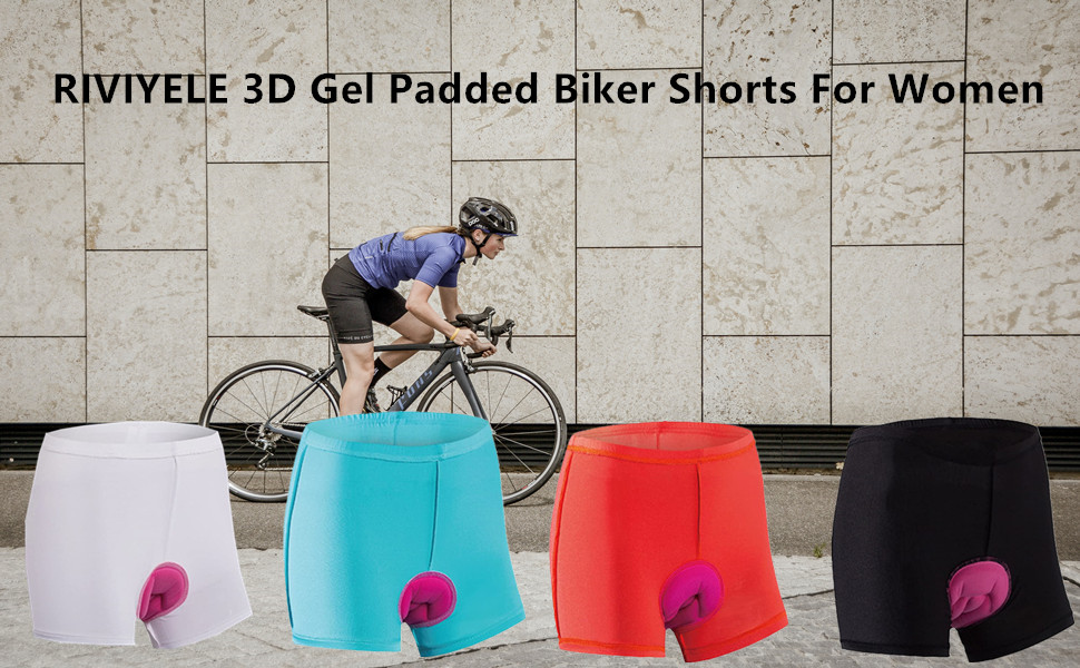 Women's Cycling Shorts 3D Padded MTB Bicycle Bike Underwear Shorts Breathable Quick Dry Shorts