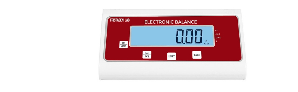 precision gram scale scientific lab weighing scale analytical balance fristaden lab scale 2000g 1000