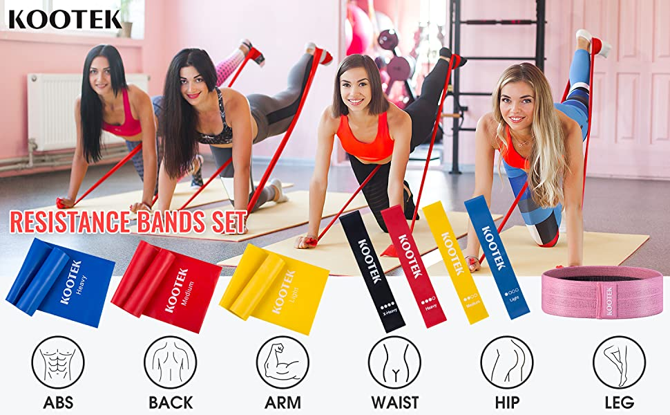 resistance bands workout bands