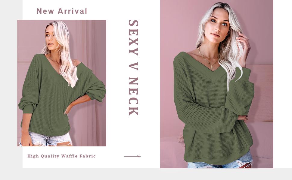 waffle knit shirts
