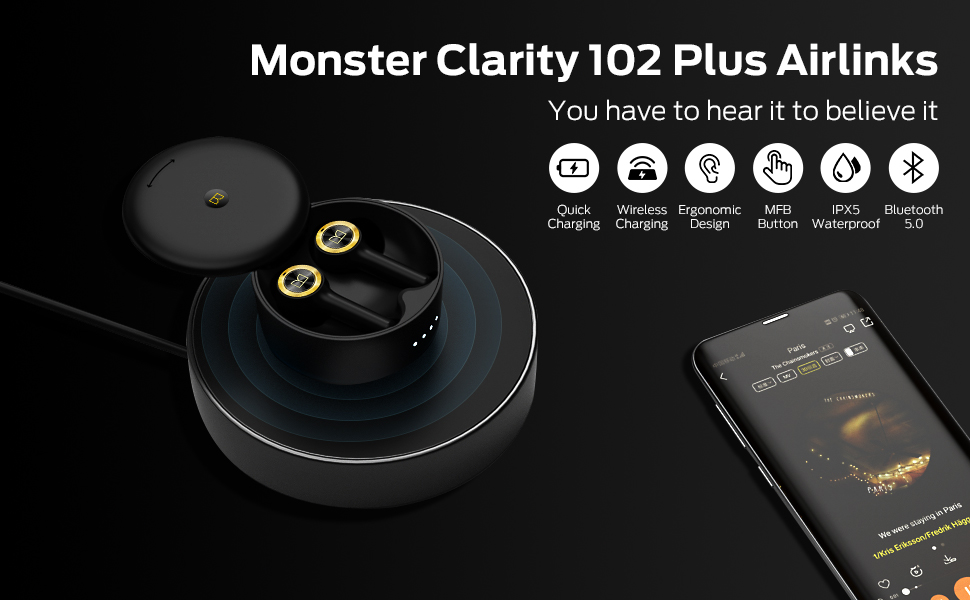 Monster Clarity 102 Plus Airlinks