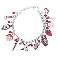 Horror Movie Cosplay Charm Bracelet