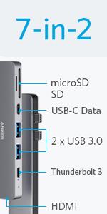 7-in-2 USB-C Hub