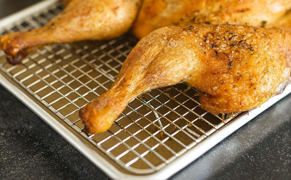 turkey rack grill rack