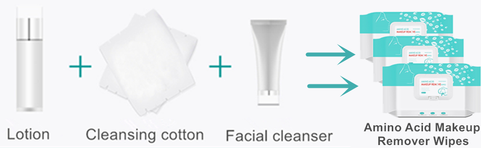 Amino Acid Makeup Remover Face Wipes