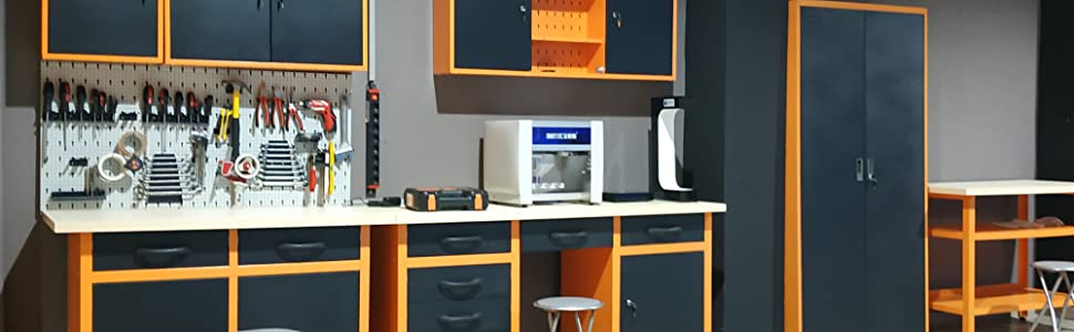 mesa trabajo tornillo banco plegable taller bricolaje herramientas gato grandes mordaza estanterias